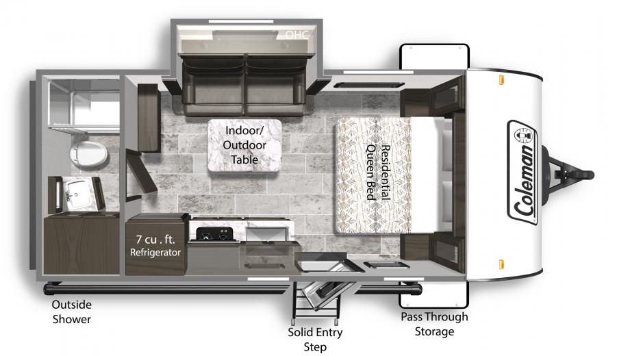 Coleman Light Interior Floorplan