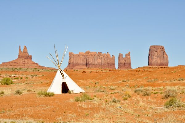 Tee Pee in Monument Valley