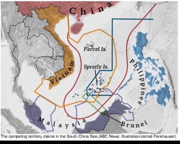 China disputes with Vietnam on Sea Border