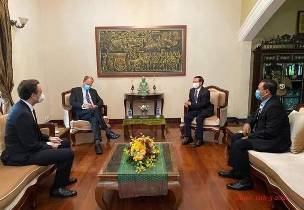 Kem met with Gernam Ambassador on May 11, 2020