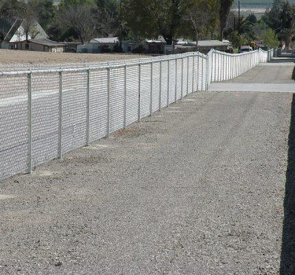 Flood Control Fencing