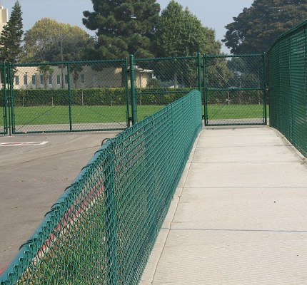 Vinyl Coated Fencing and Gates
