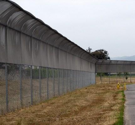 No Climb Fence