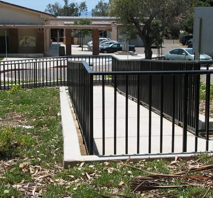 Black Ornamental Railing