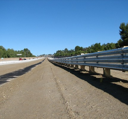 Hwy 23 Thrie Beam Barrier