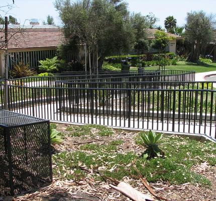 Fusion-Welded Steel Ornamental Fence