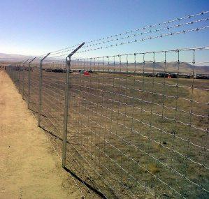 Solar Security Fencing