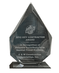 Bechtel Key Contractor Award