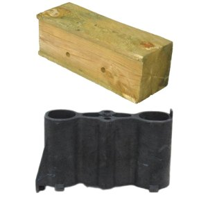Wood & Recycled Plastic Blocks for Sale