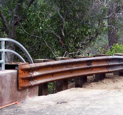 Corten Guardrail