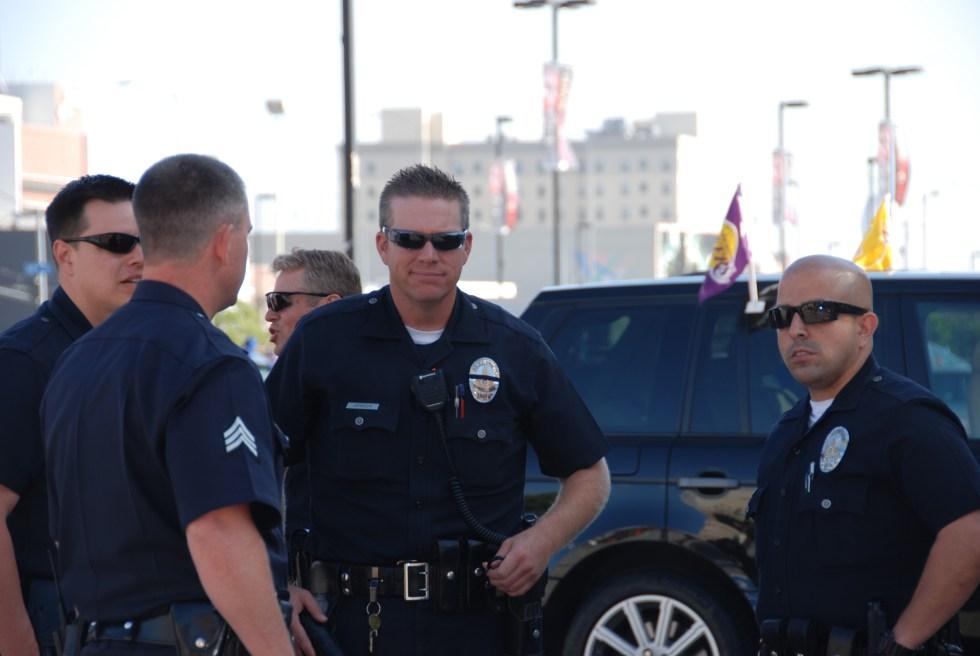 LAPD_Staples_Center_Officers_Patrol