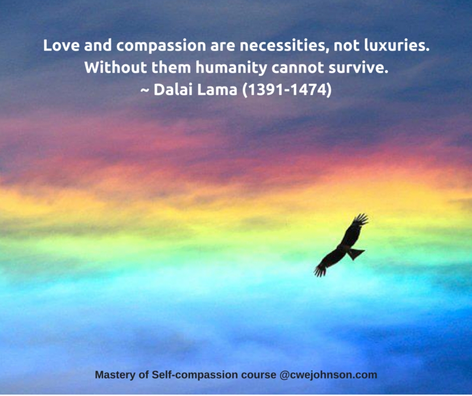 Mastery of Self-compassion online course