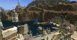 The docks in Dol Amroth