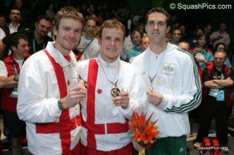 CG16 Mens singles medallists 06CG5724