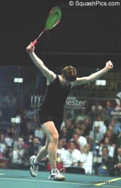 WS - CG - Women's Doubles Final - Carol Owens celebrates gold 6130