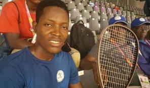 Sierra Leone's Ernest Jombla