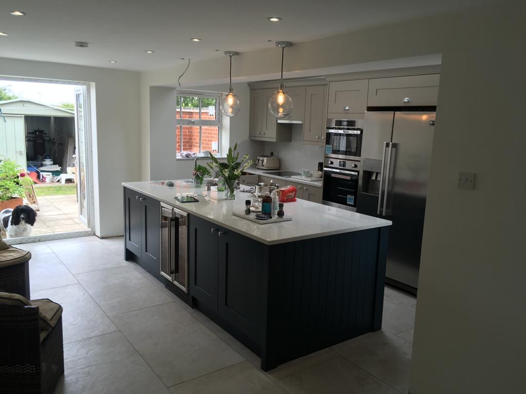 C Whyman Building Services Cannock - Kitchen Extension