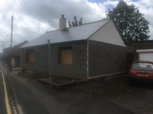 C Whyman Building Services Cannock - Bungalow Build