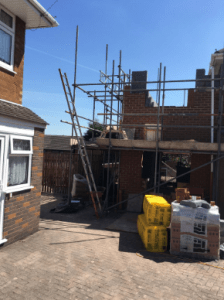 C Whyman Building Services Cannock - Double Story Extension