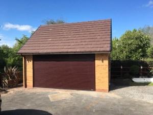 C Whyman Building Services Cannock - Garage Build