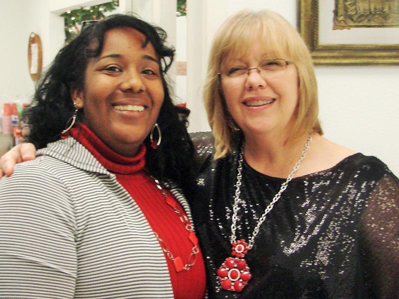 Photo of LaKeisha and Helen