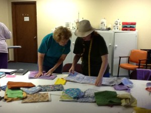 Alumni Giving Back by Sewing