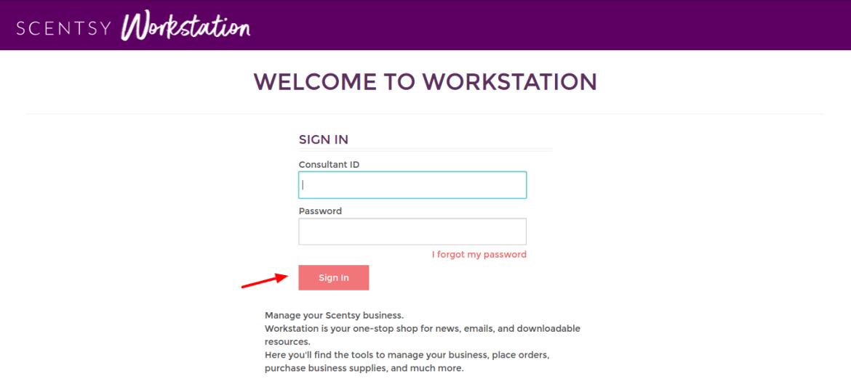 workstation scentsy com - Scentsy Workstation Pay Portal Login