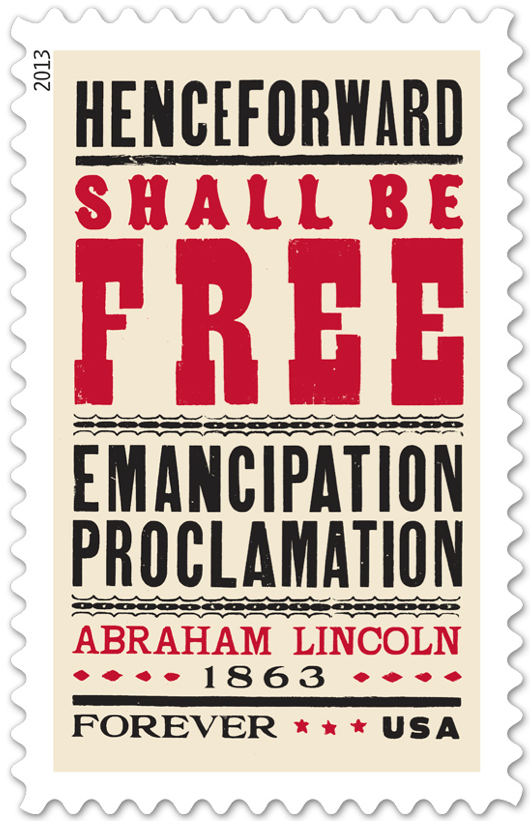 emancipation stamp