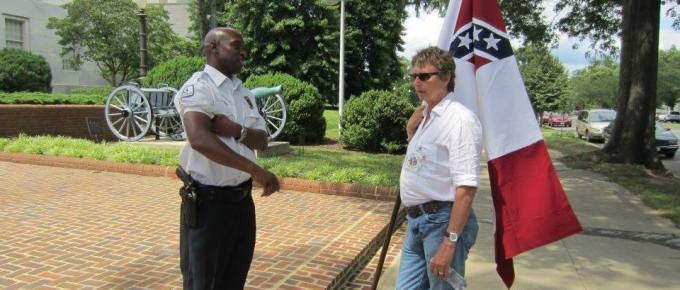 Staking Out a Position on the Confederate Flag