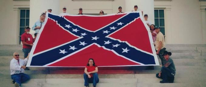 Virginia Flaggers To Fly Historically Inaccurate Flag