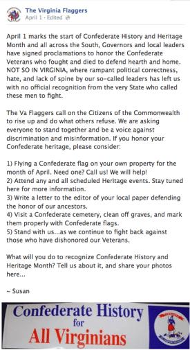 Virginia Flaggers Facebook Page