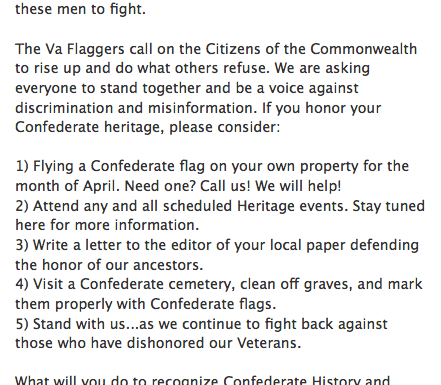 Confederate History for All Virginians (if you can make the case)