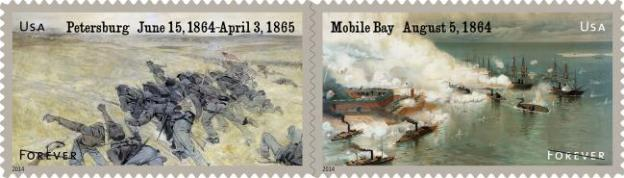 1864 USPS Stamps