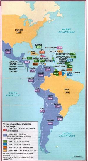 Emancipation Map