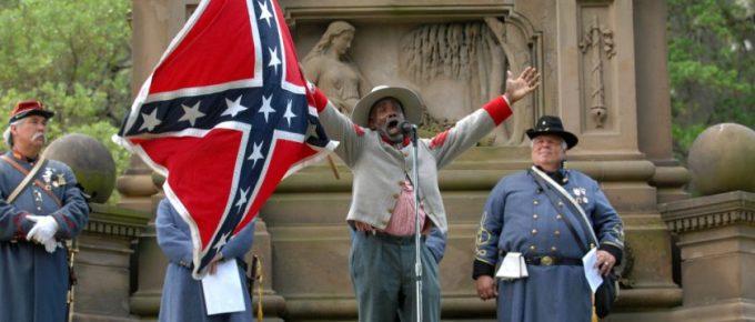 H.K. Edgerton Protested by Ku Klux Klan