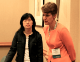 Leilei Zeng (2010 Chair, Canadian Section), Sally Morton (2009 President, American Statistical Association)