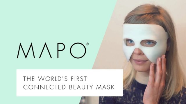 MAPO: the first connected beauty mask