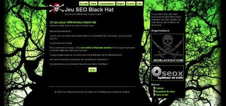 Black Hat SEO Game