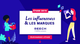 Study influencers and brands