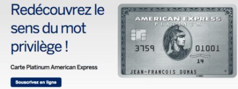 For its loyal customers, American Express offers green, gold and platinum cards