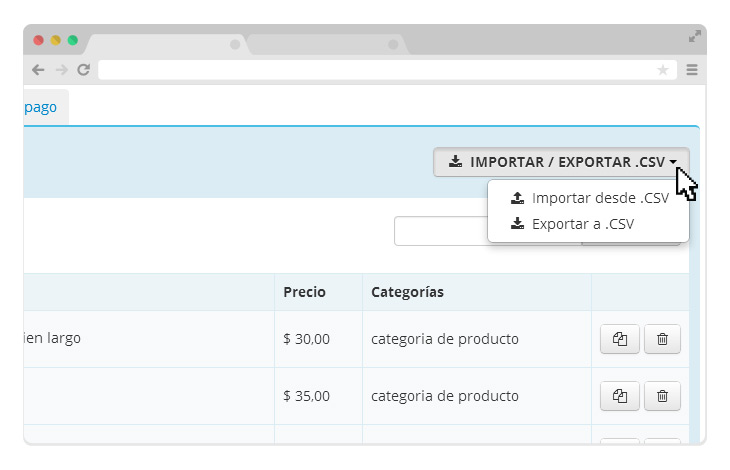 How to export and import the product catalog in CSV (with Excel) – IDEA YOUR BLOG SITE 2020
