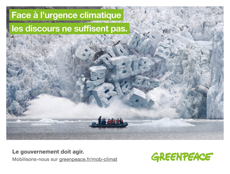 ▷ Greenpeace ad censored in the Paris metro 2020 Guide