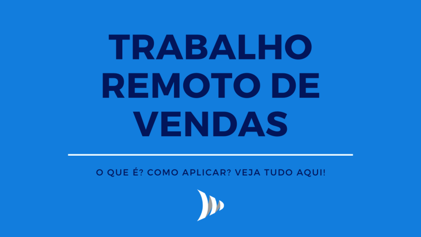 Remote sales work