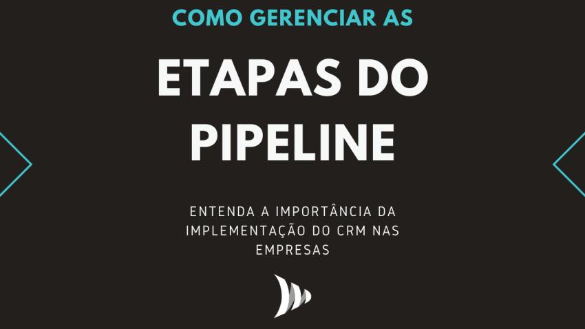 Sales pipeline steps