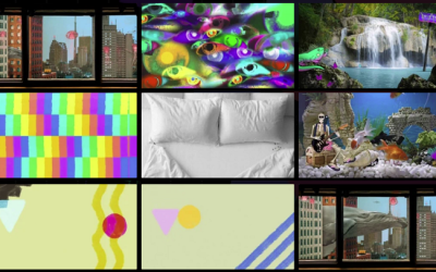 ▷ GIPHY adds a custom background creator for your videoconferences