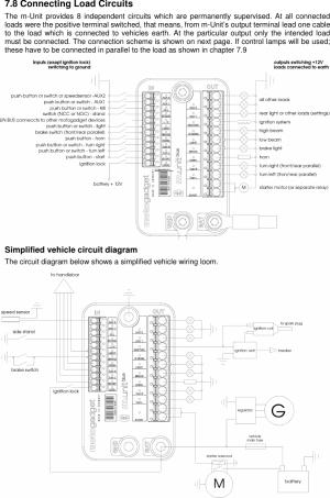 Ignitech to MUnit Blue wiring help