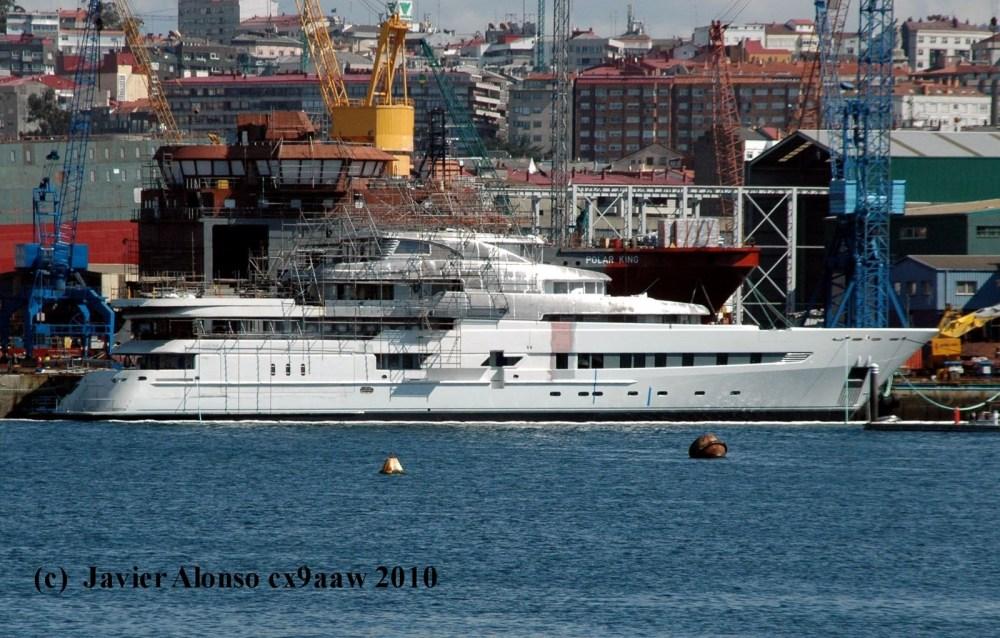 """""""PEGASO"""" buque privado de investigación marina oceanográfico (2/3)"""