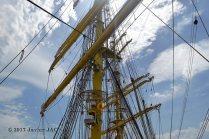 El Velero Rumano Mircea es un velero del tipo barca de tres mástile (12)