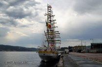 El Velero Rumano Mircea es un velero del tipo barca de tres mástile (25)