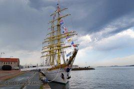 El Velero Rumano Mircea es un velero del tipo barca de tres mástile (3)